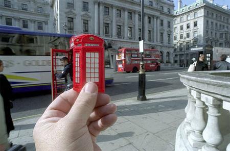 Souvenir Landmarks - London Red Phone Booth