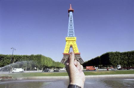 Souvenir Landmarks - Paris Eiffel Tower