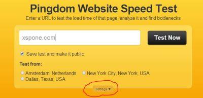 Geschwindigkeit WordPress ermitteln