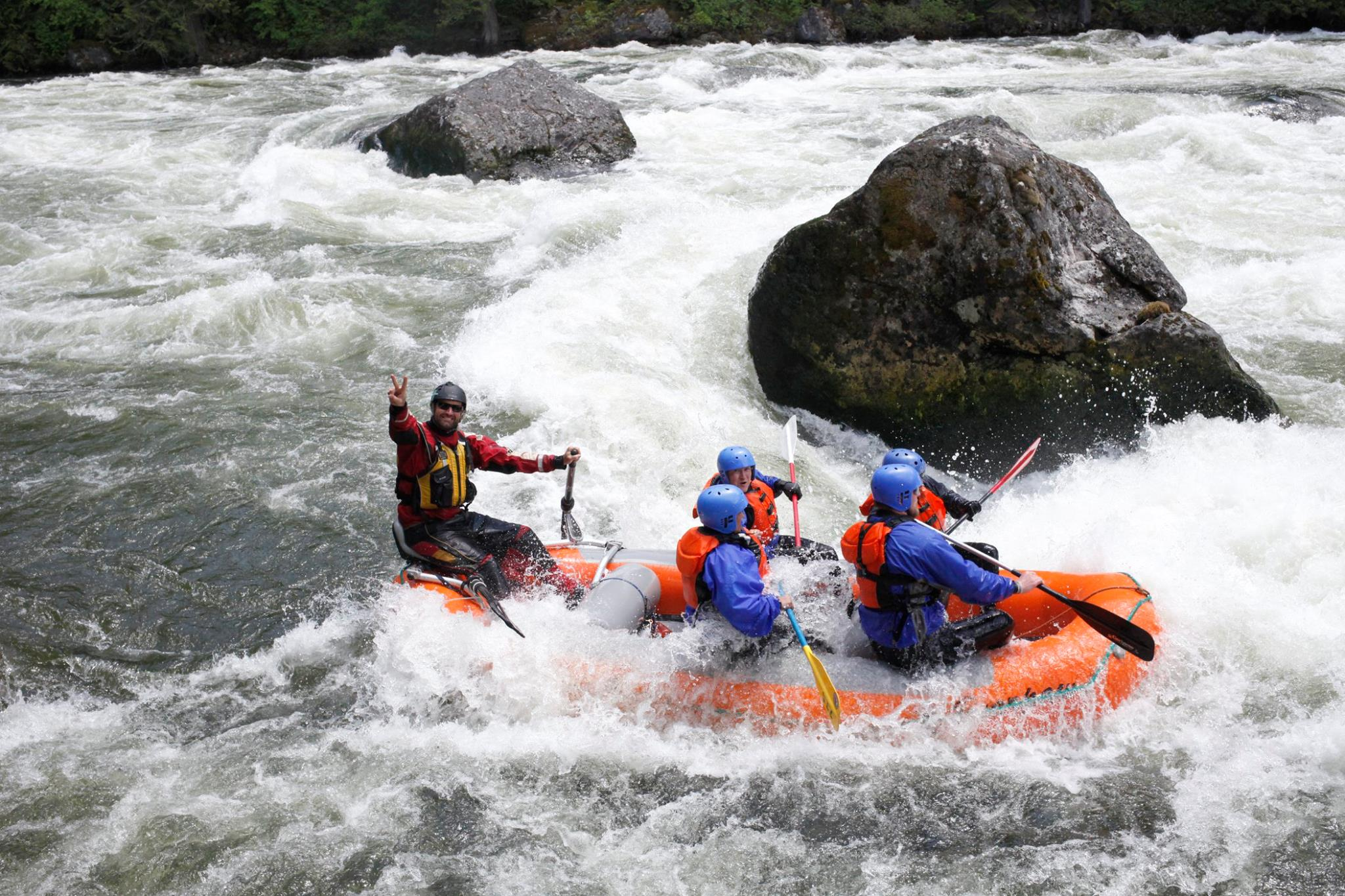Veteran events Whitewater Rafting