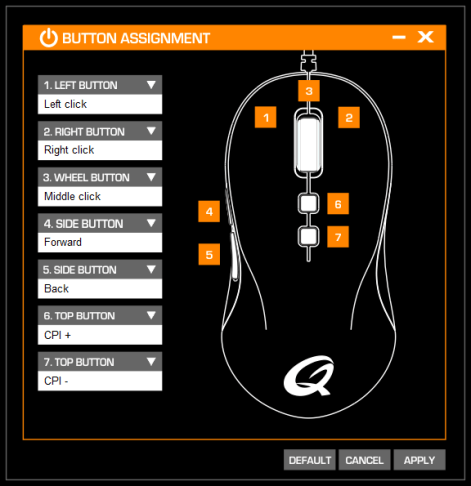 Button remapping