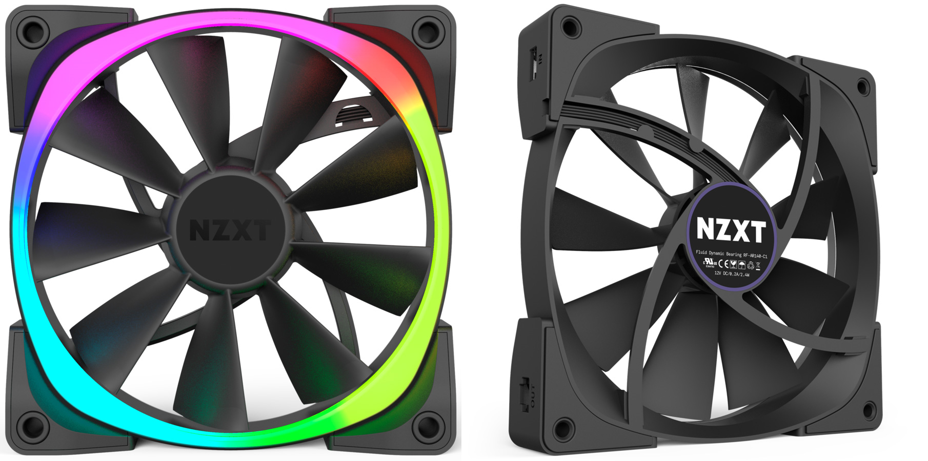 NZXT Aer RGB review: these case fans are pretty, clever - Review