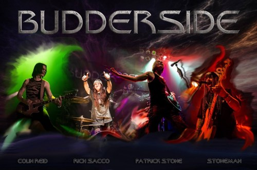 Budderside - XS ROCK Featured Artist March 2018