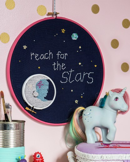 BoboStitch's Reach for the Stars design from Issue 3