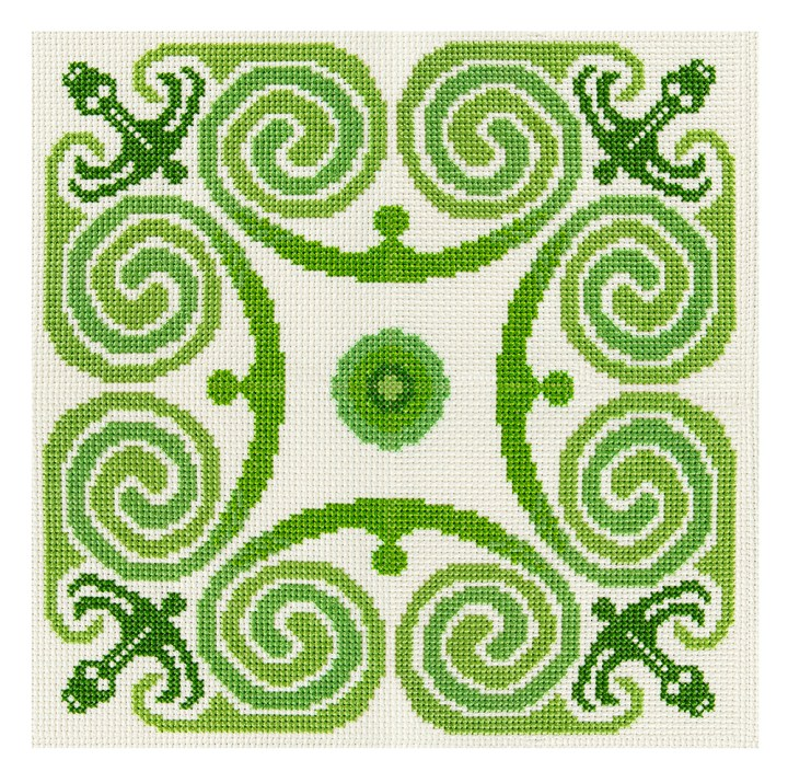 The Hawthorn Tree's Celtic Spiral design from Issue 4