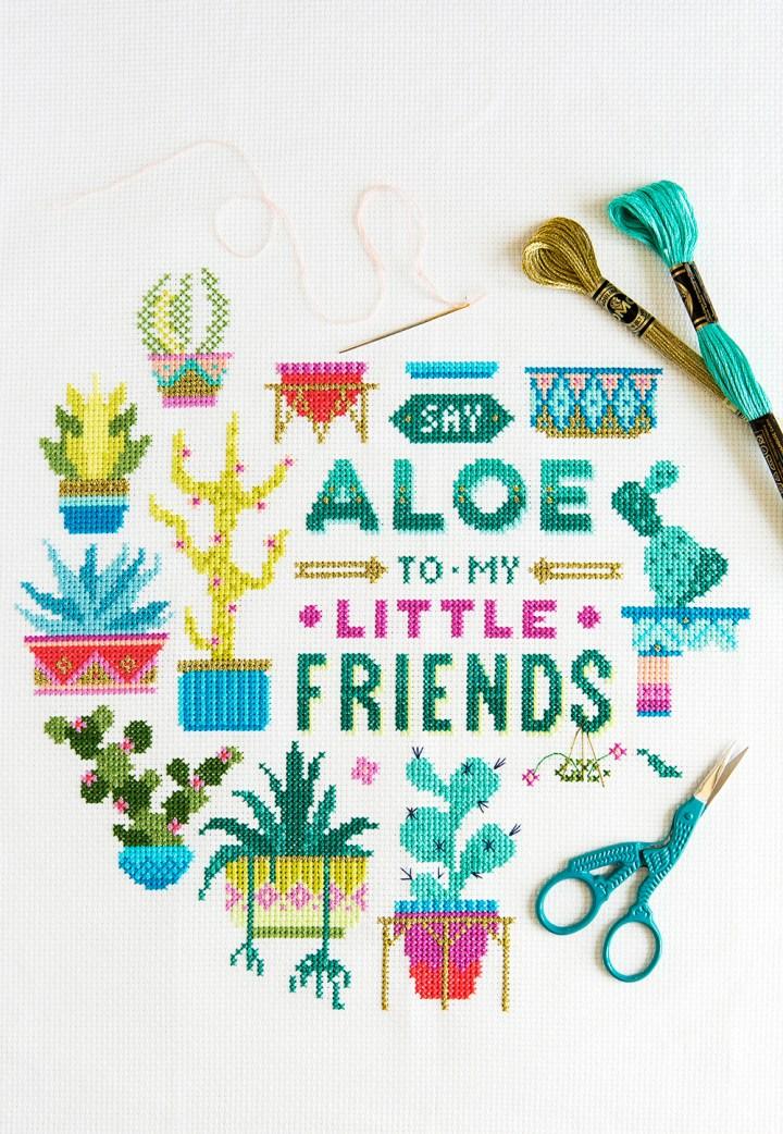 Emma Congdon's Say Aloe design from Issue 4
