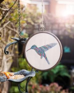 Climbing Goat Designs' Hummingbird design from Issue 2