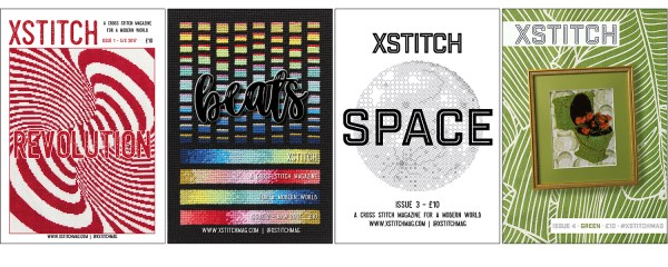 The Four Covers of XStitch Magazine