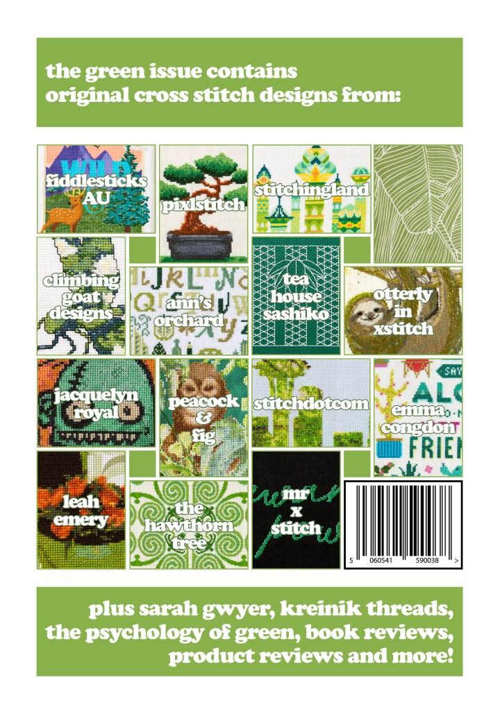 XStitch Magazine Issue 4 - Green