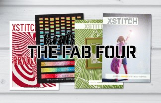 XStitch Magazine Fab Four Combo Package