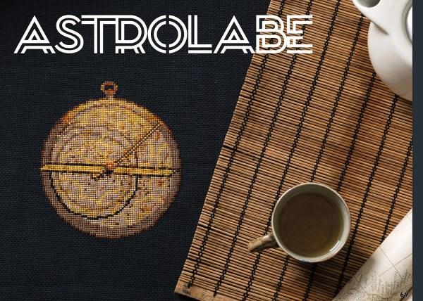 Christabel Seneque - Astrolade design for XStitch Magazine Issue 9