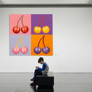 Flanders Tapestry Collection - Warhol Cherries from Issue 14
