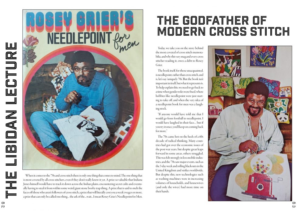 Rosey Grier article from Issue 15 - The 70s