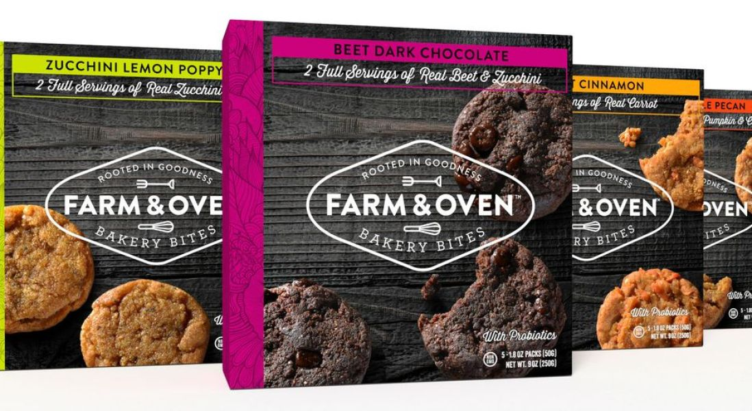 Farm & Oven Introduces Probiotic-Rich Vegetable-Based Cookies
