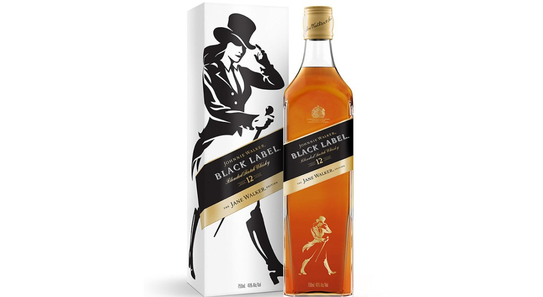 Johnnie Walker Releases the First-Ever Feminine Edition of Black Label Whisky: Jane Walker
