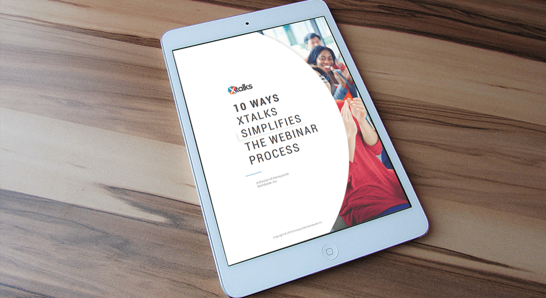 eBook: 10 Ways Xtalks Simplifies the Webinar Process