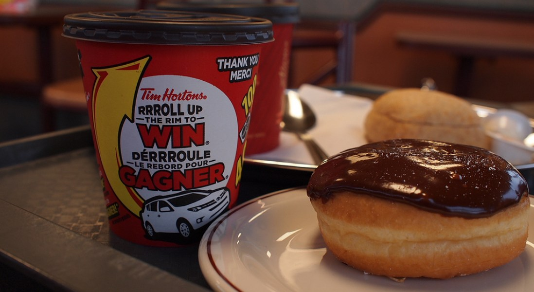 Calls for Tim Hortons' Roll Up the Rim to Go Green