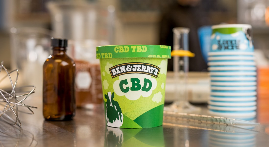 The Inside Scoop on Ben & Jerry's Plans for CBD Ice Cream