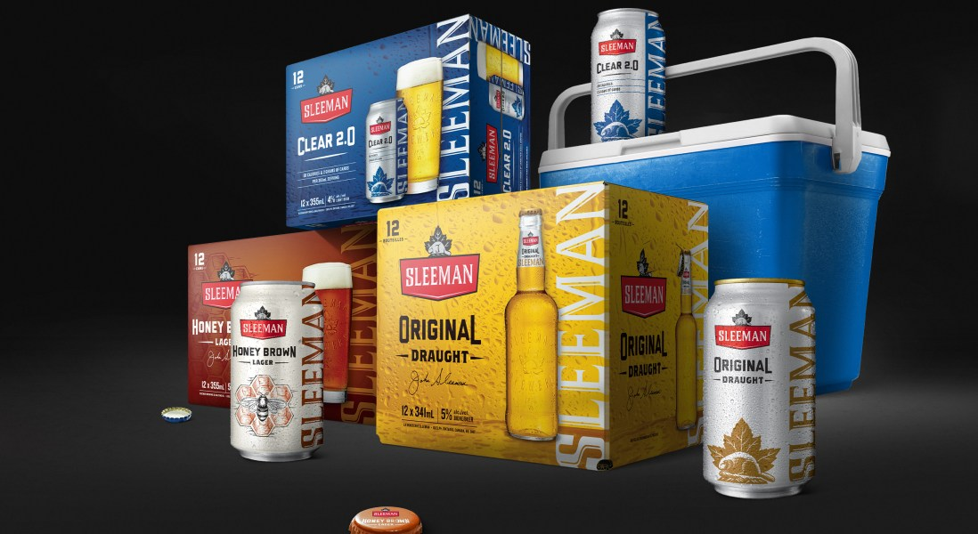 Sleeman Beer Debuts Slick Summer Makeover & Ad Campaign