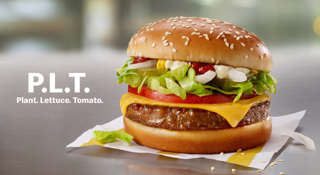 McDonald's is Bringing Plant Based Burgers to Canada