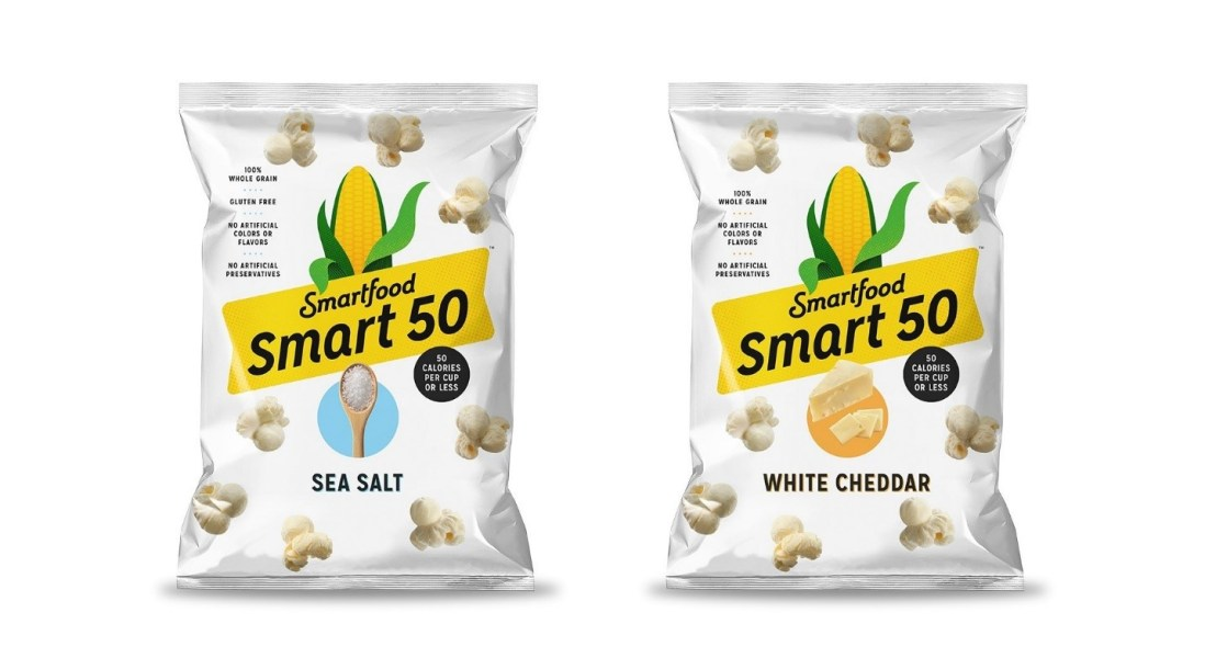 Smartfood Popcorn Launches New Snack at 50 Calories Per Cup