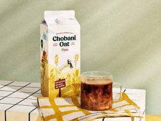 Chobani Oat Drinks four flavors