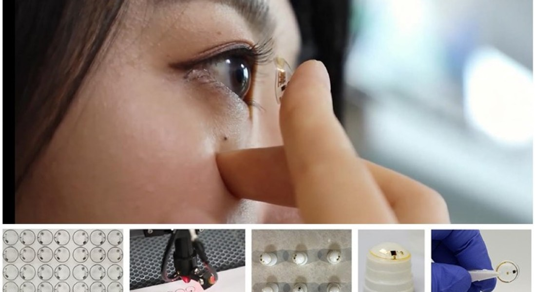 Smart Contact Lenses That Can Diagnose and Treat Diabetes