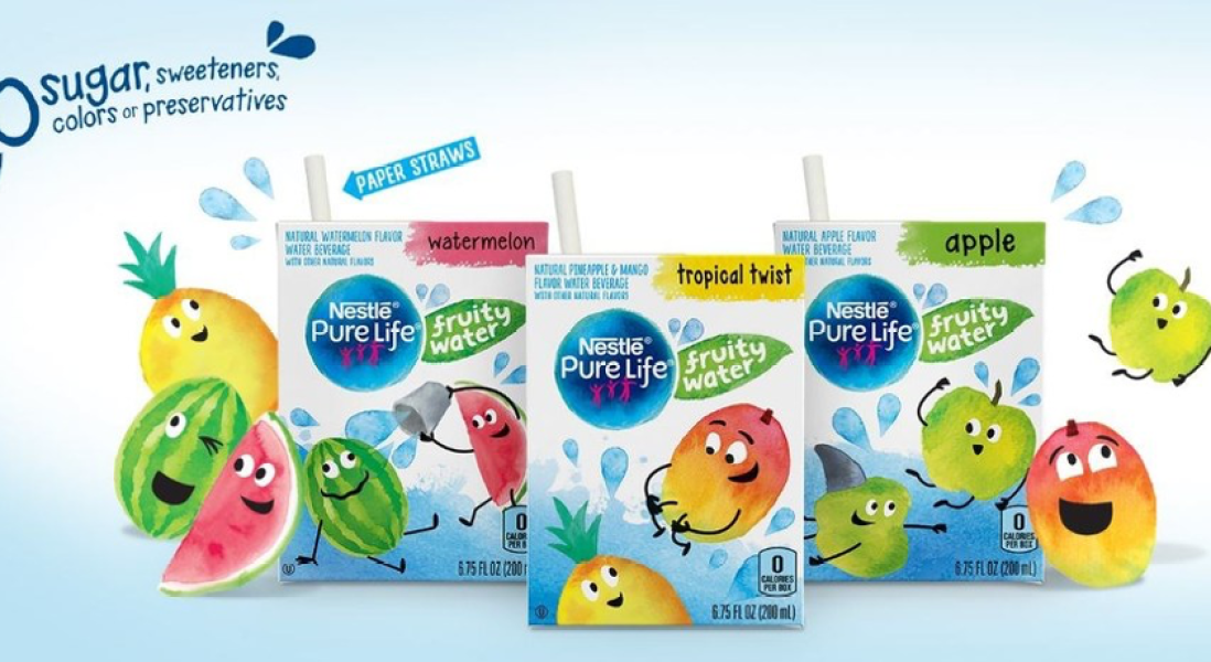 Nestlé to Encourage Kids to Stay Hydrated by Introducing New Flavored Water