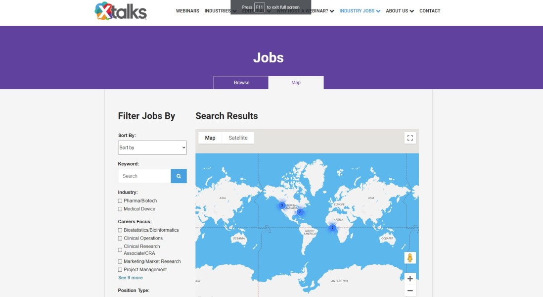 Xtalks Job Search — Introduction for Employers