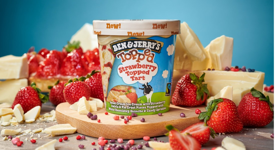 Ben & Jerry's Introduces Seven New Flavors Topped with Chocolatey Ganache