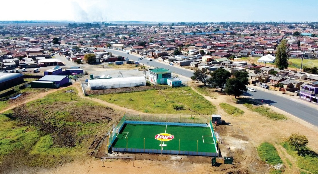 Lay's RePlay to Repurpose Packaging and Make Sustainable Football Pitches Around the World
