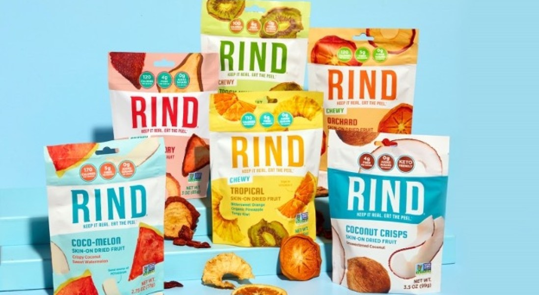 RIND Upcycled Fruit Snack Company Raises $6.1 Million in Series A Funding
