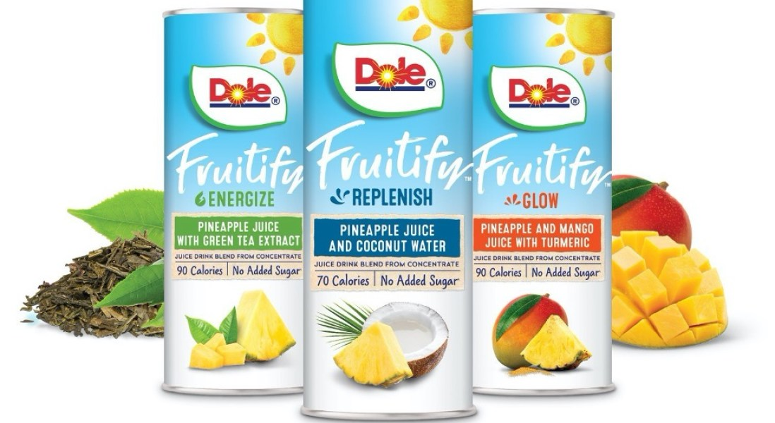 Dole Introduces New Functional Juice and Bowls to Achieve Their No Added Sugar Goal