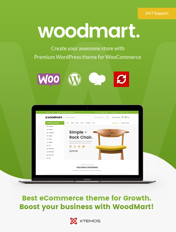 WoodMart - Responsive WooCommerce WordPress Theme 2