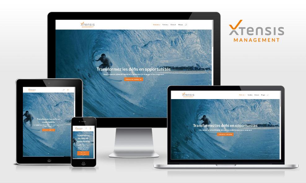 Xtensis Management / New Branding