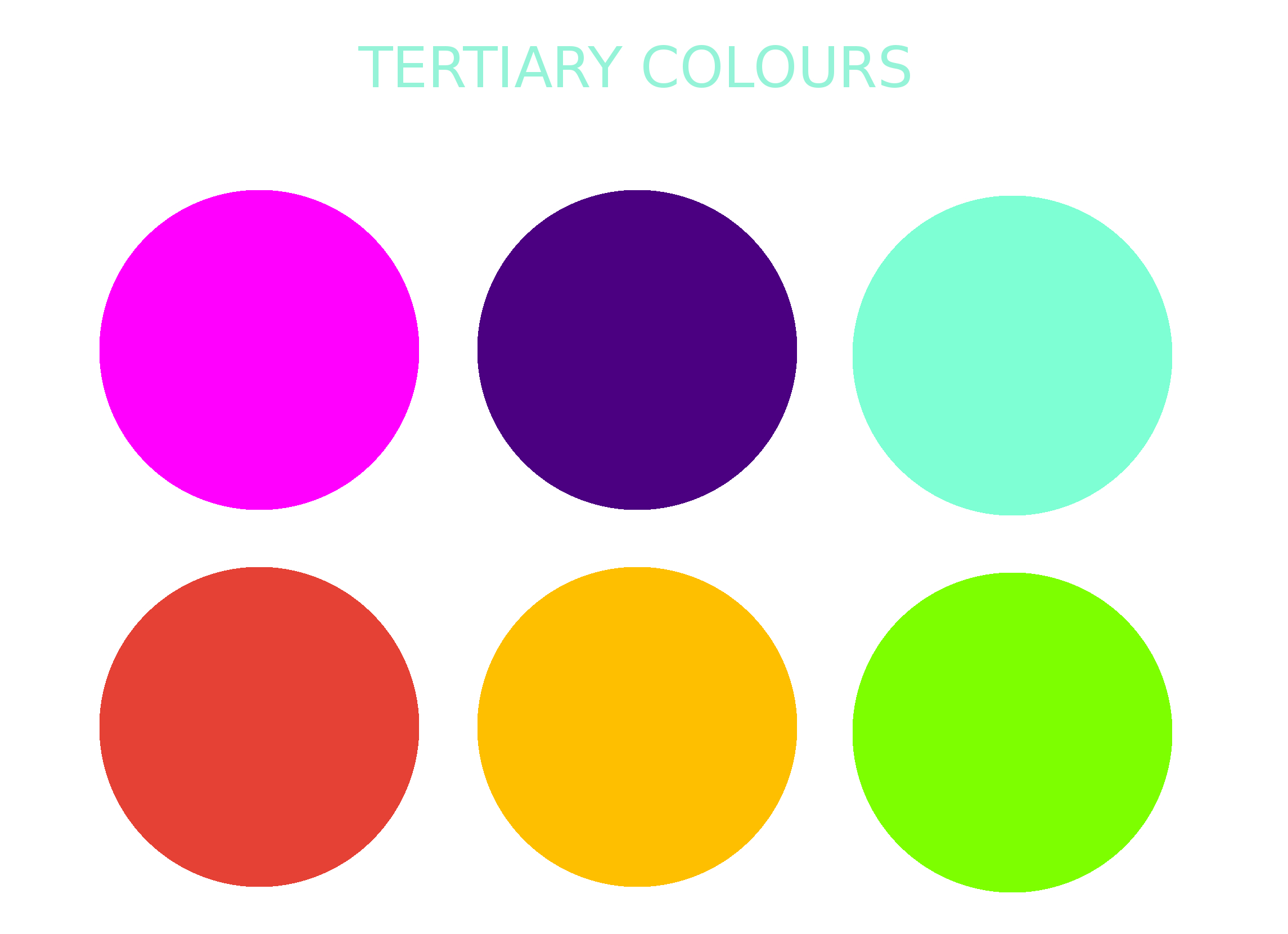 86 Tertiary Colors Examples