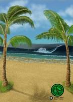 Background Gaming Card Design 2016 Digital 648x907 #Beach #FantasyArt #Illustration #Card #Digital #DigitalArt. Prints and one time giclee available.
