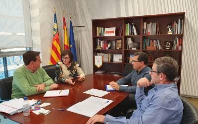 La presidenta de la Mancomunitat  es reuneix amb el DG de Turisme per a tractar el Pla de Dinamització Turística