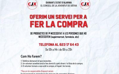 El CJX anuncia un servei per a fer la compra