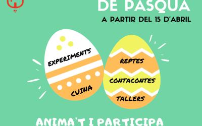 La regidoria d'Educació inicia demà una escola de Pasqua virtual per a tota la família