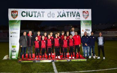 L'ALEVÍ A del Ciutat de Xàtiva acaba la temporada en el lloc més alt de la taula
