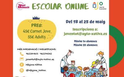 Xàtiva oferirà un curs online d'Educador de Menjador Escolar