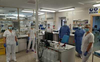 El laboratori de microbiologia de l'Hospital Lluís Alcanyís de Xàtiva ha realitzat més de 2000 proves PCR de coronavirus