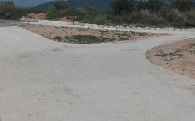 La reparació dels camins afectats per la DANA de setembre avança a la Font de la Figuera