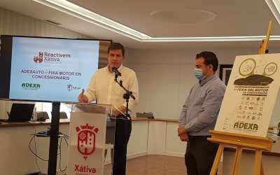 Xàtiva albergarà una pionera Fira del Motor coincidint amb el Pla d'Automoció del Govern