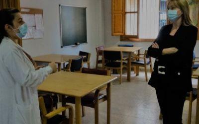 Les instal·lacions i els serveis vinculats a Benestar Social van recuperant la seua activitat a Xàtiva