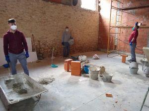 Els tallers d'ocupació de La Mancomunitat  reprenen la seua activitat adaptats a la situació