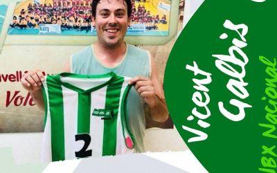 Galbis es compromet amb el Nou Bàsquet Xàtiva