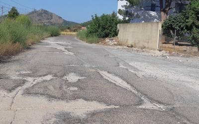 Comencen les obres per asfaltar els vials d'ADIF a Canals