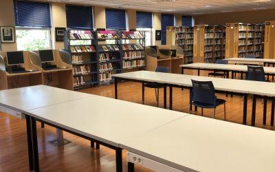 La Biblioteca municipal de Xàtiva amplia el seu horari i els serveis presencials